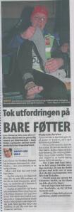 Faksimile fra avisa Nordlys - 07.01.13