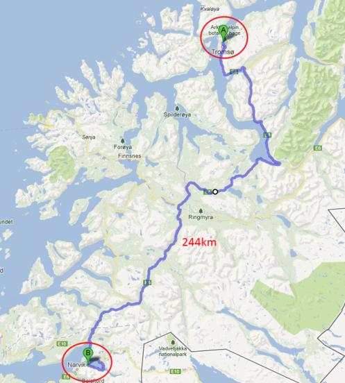 Snart i Narvik - Saltfjellet neste