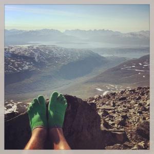 I sokkelesten på Tromsøs tak