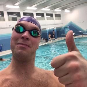 Svømmetrening - teknikk må læres